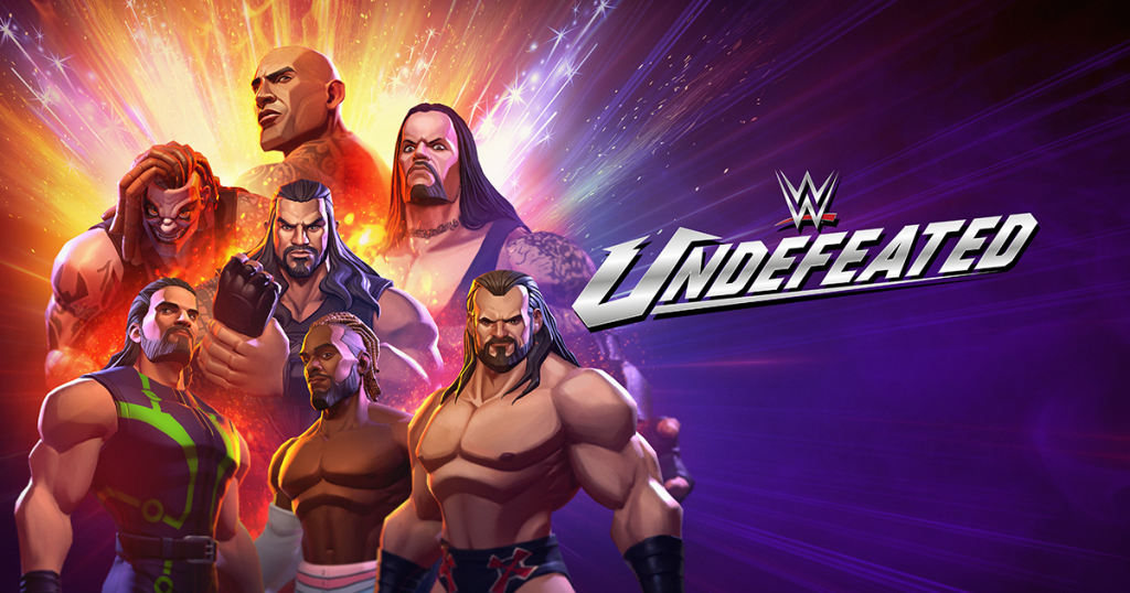 WWE® UNDEFEATED NOW AVAILABLE FOR IOS AND ANDROID