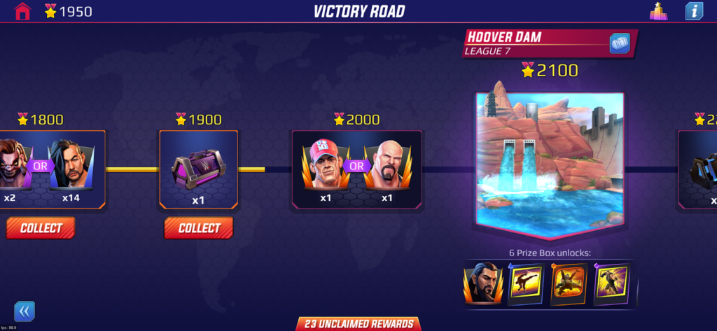 v1.3 Update – Victory Road
