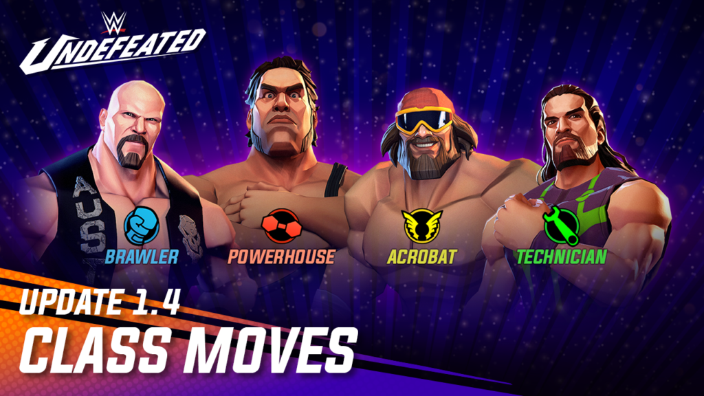 Update 1.4 – New Class Moves Feature